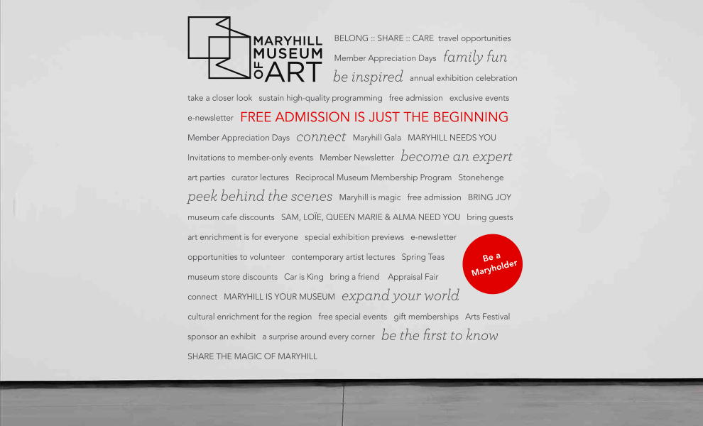 Maryhill Museum Signage